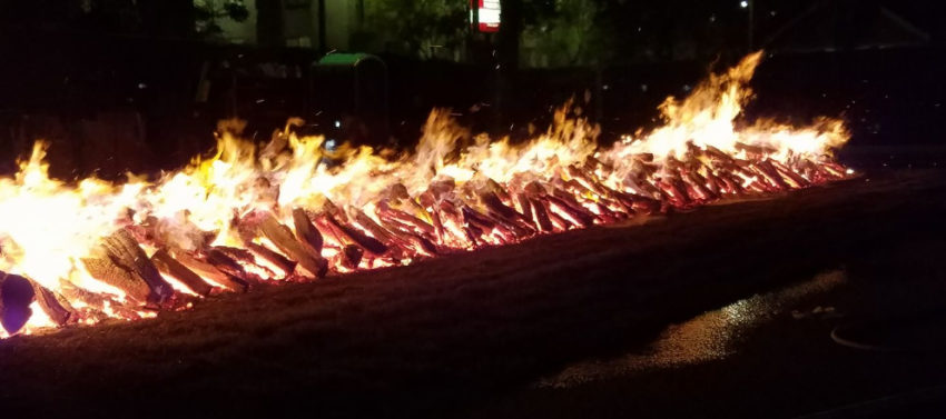 Firewalk at UPW LA Tony Robbins