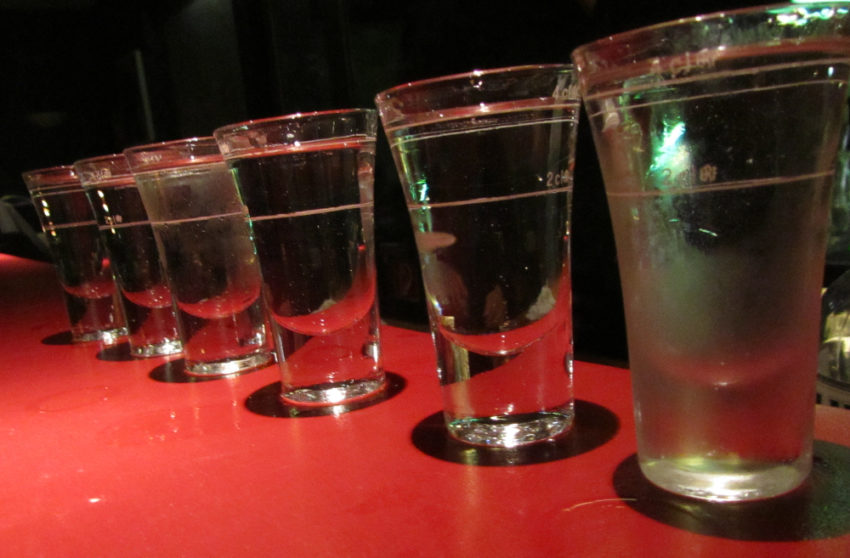 Shots of Alcohol